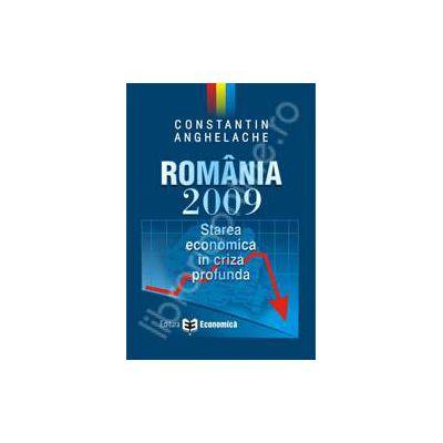 Romania 2009. Starea economica in criza profunda