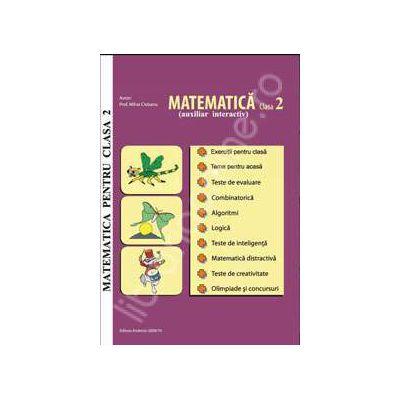 Matematica pentru clasa a 2-a. Auxiliar interactiv