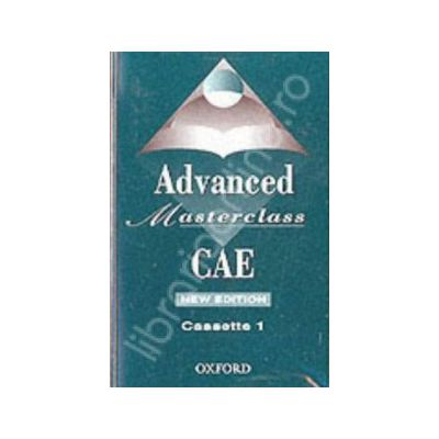Advanced Masterclass CAE Advanced Cassettes (2)
