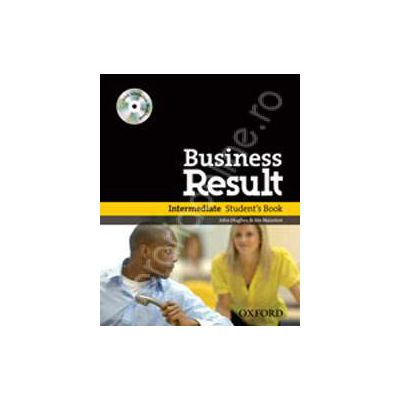 Business Result Intermediate Students Book with Interactive Workbook on CD-ROM