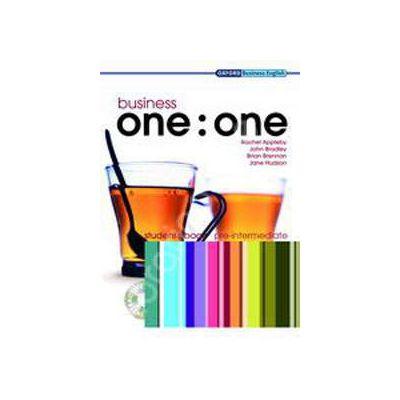Business one:one Pre-Intermediate Class Audio CDs (2)