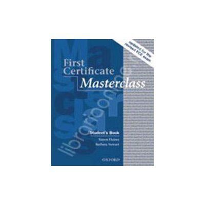 First Certificate Masterclass (New Edition) Class Audio CDs (2)