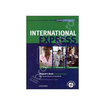 International Express, Interactive Edition Intermediate Workbook + Students Audio CD