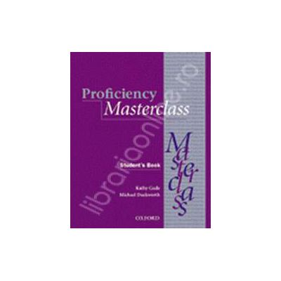 Proficiency Masterclass Workbook with Key and Audio CD (New Edition Advanced)