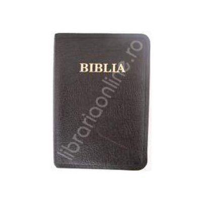 Biblia editie de lux cu fermoar