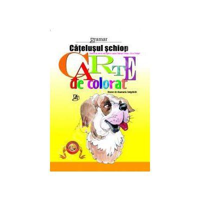 Catelusul schiop - carte de colorat
