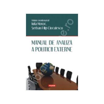 Manual de analiza a politicii externe