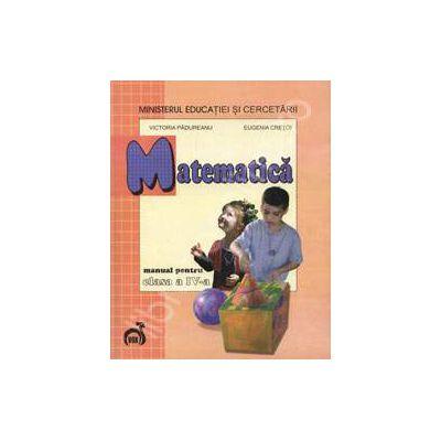 Matematica manual pentru clasa a IV-a