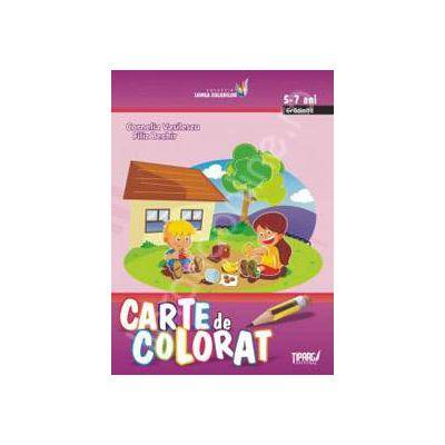 Carte de colorat, 5-7 ani
