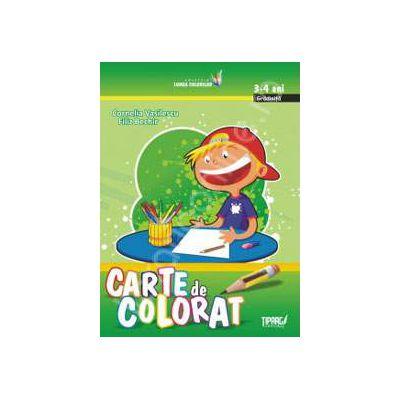 Carte de colorat, 3-4 ani