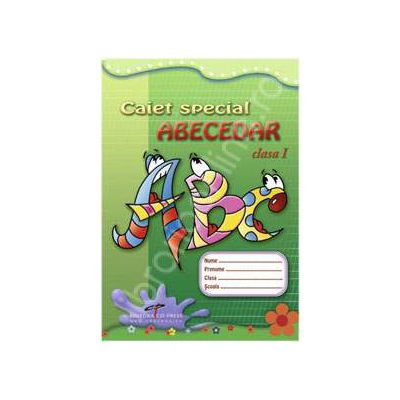 Caiet special Abecedar clasa I