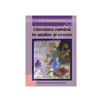 Literatura Romana in analize si sinteze. Editia a III-a