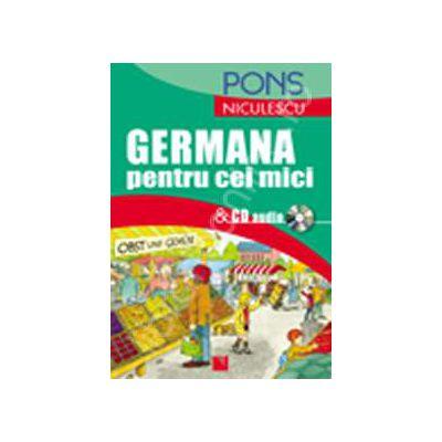 Germana pentru cei mici cu CD audio