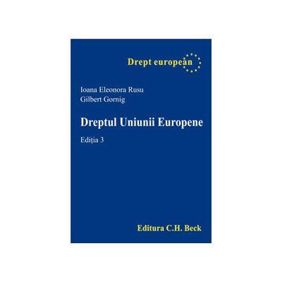 Dreptul Uniunii Europene, Editia. a 3-a