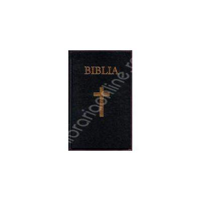 Biblia- coperta cartonata, aurita