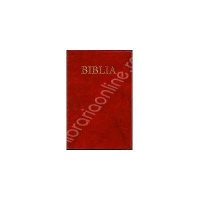 Biblia, coperta flexibila-aurita