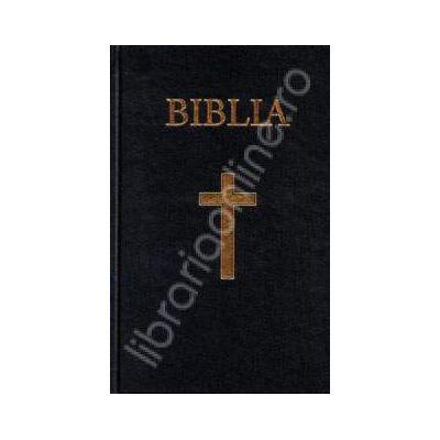 Biblia cu coperti cartonate. Culoarea albastra (50822)
