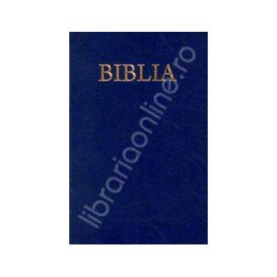 Biblia cu coperti flexibile. Culoarea albastra (50829)