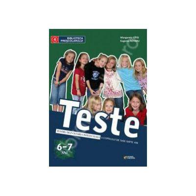 Teste de pregatire pentru scoala a copilului de sase-sapte ani