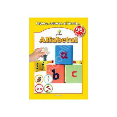 Alfabetul (96 autocolante)