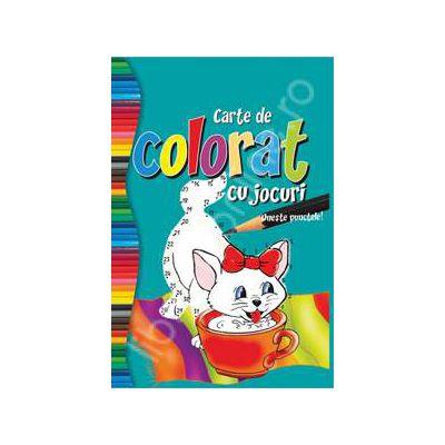 Carte de colorat cu jocuri