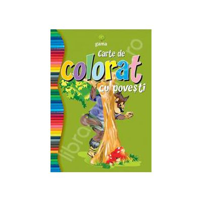 Carte de colorat cu povesti