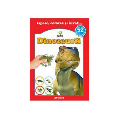 Dinozaurii (52 autocolante)