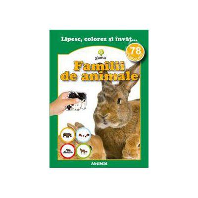 Familii de animale (78 autocolante)