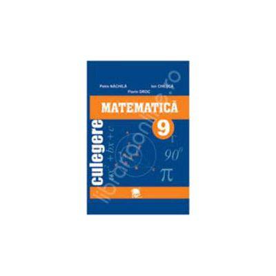 Culegere matematica clasa a IX-a