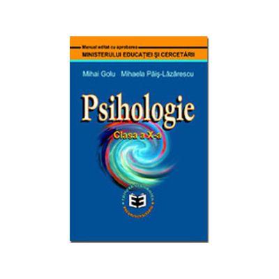 Psihologie manual pentru clasa a X-a