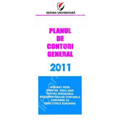 Planul de conturi general 2011 (Aprobat prin OMFP Nr. 3055/2009)