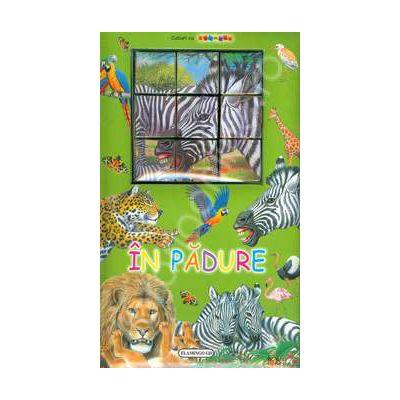 In padure. Carte cu puzzle
