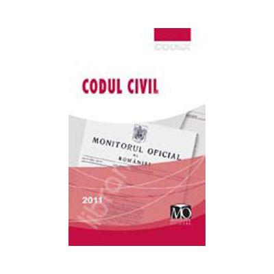 CODUL CIVIL, editia a III-a (Editia iulie 2011 contine Legea nr. 287/2009 privind Codul civil, republicata)