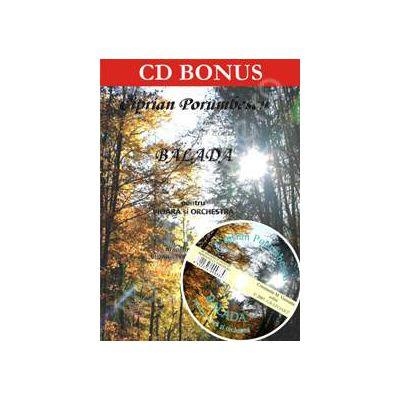 Balada pentru vioara si orchestra + CD, Op. 29. Partituri instrum. coarde; vioara solo