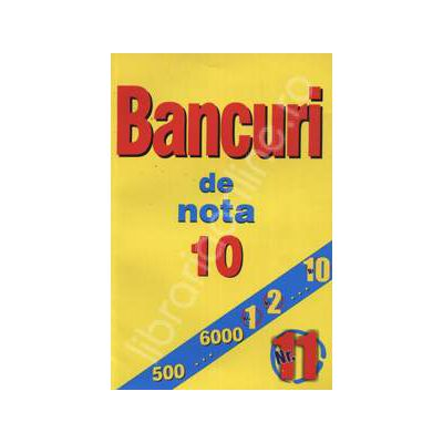 Bancuri de nota zece. Nr. 11