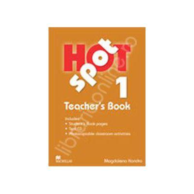 Hot Spot level 1 with Test CD. Teacher's Book