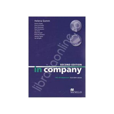 In Company Second Edition Pre-Intermediate. Teacher's Book
