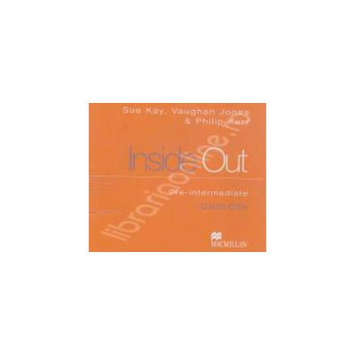 Inside Out Pre-Intermediate Class CDs (3 cd-uri)