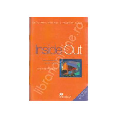 Inside Out Pre-Intermediate. Workbook with key + CD