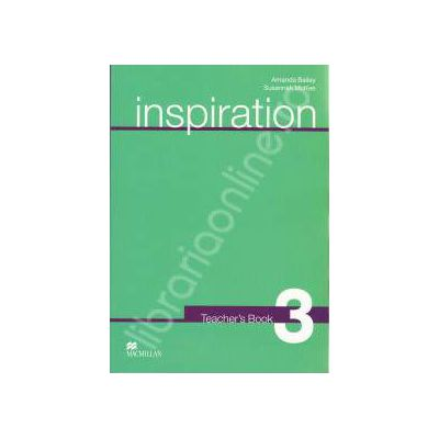 Inspiration Teacher's Book 3