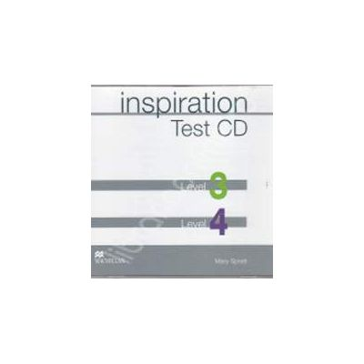 Inspiration Test CD Level 3 and Level 4