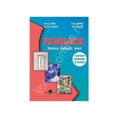Psihologie - Sinteze, aplicatii, teste - clasa a X-a