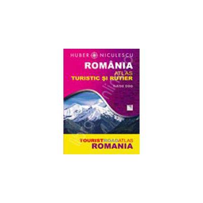 Romania. Atlas turistic si rutier (Huber)
