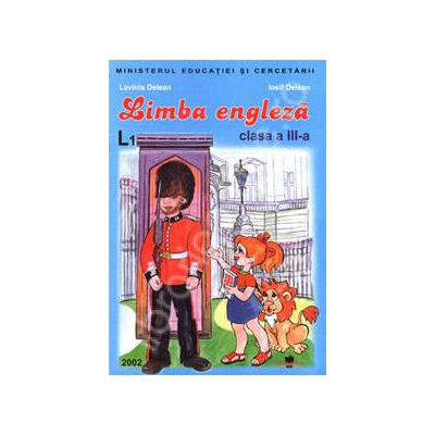 Manual de limba engleza pentru clasa a III-a