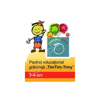 Pachet educational gradinita 'TimTim-Timy' (3-4 ani)