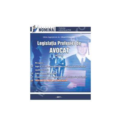Legislatia profesiei de avocat 2011 cu 100 de intrebari tip teste grila