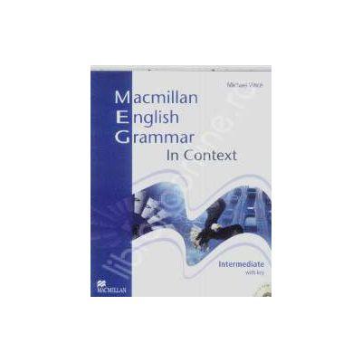 Macmillan English Grammar. In context Intermediate with CD