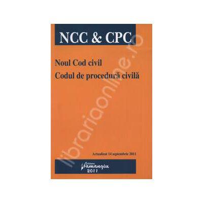 Noul Cod civil. Codul de procedura civila (Actualizat 14 septembrie 2011)