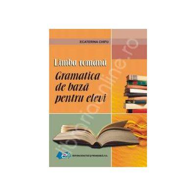 Limba romana - gramatica de baza pentru elevi