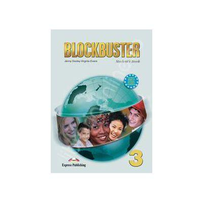 Blockbuster 3 (SB) student's book. Manual pentru clasa a VII-a de limba engleza Blockbuster 3